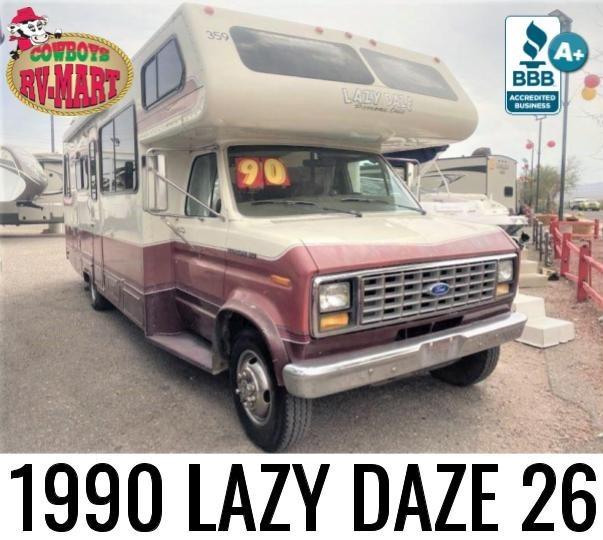 Photo Used 1990 Lazy Daze Class C RV  $10777