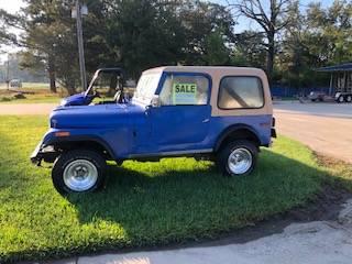 Photo 1980 Jeep cj7 - $8500 (West Monroe)