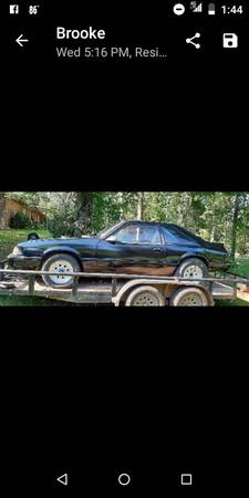 Photo 1993 Fox body mustang drag racing car - $4,500 (Hodge)
