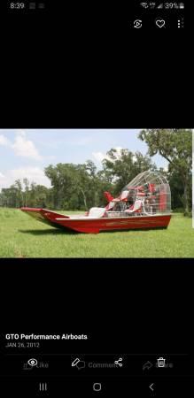 Photo Air Boat - $35500 (Panama City)
