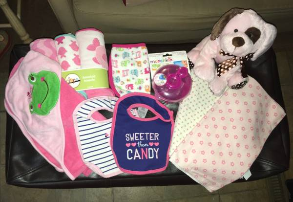 Photo Baby Girl Gear (Hooded Towels, Blankets, Buggy Cover, Etc.) (West Monroe)