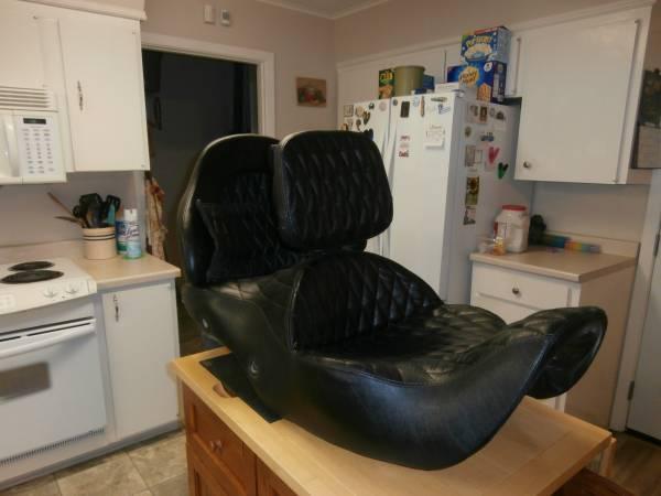 Photo Custom built Goldwing seat - $800 (Monroe)
