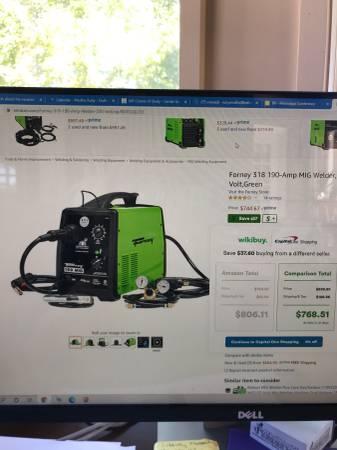 Photo Forney 190 Welding machine - $480 (Jackson)