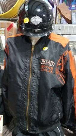 Photo Harley Davidson Clothing Merchandise Garage Sale