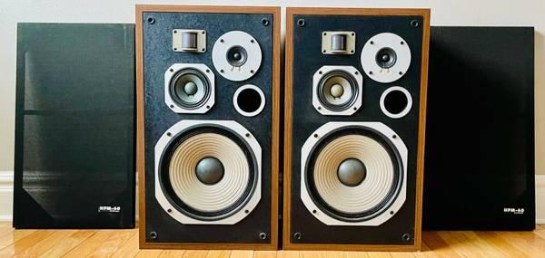 Photo PIONEER HPM-60 Stereo Speakers Classic JBL klipsch - $360 (BR)