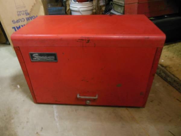 Photo Snap-On 9-Drawer Top Chest Tool Box wTools - $350 (Texarkana, Arkansas)
