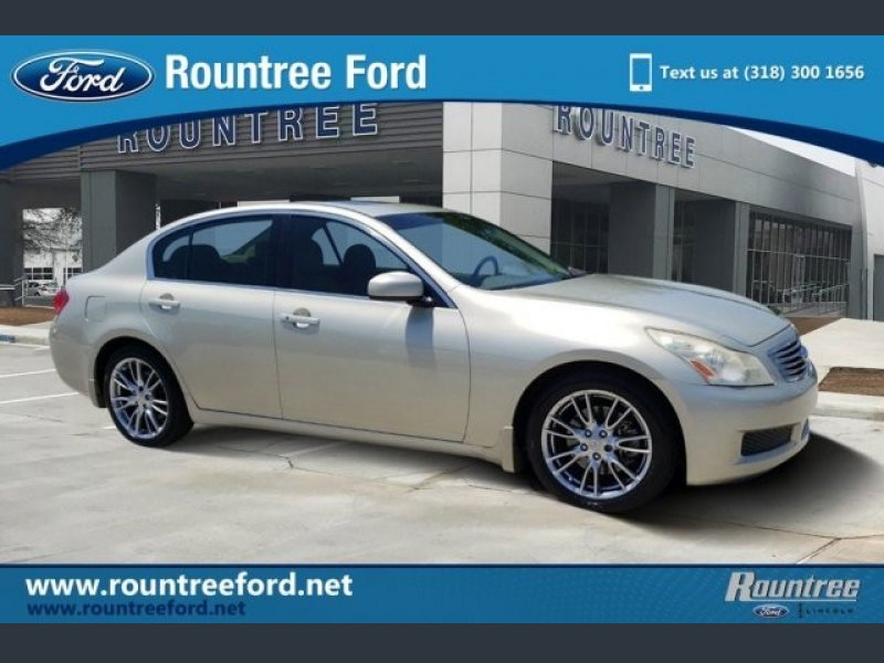 Photo Used 2007 INFINITI G35 Journey for sale