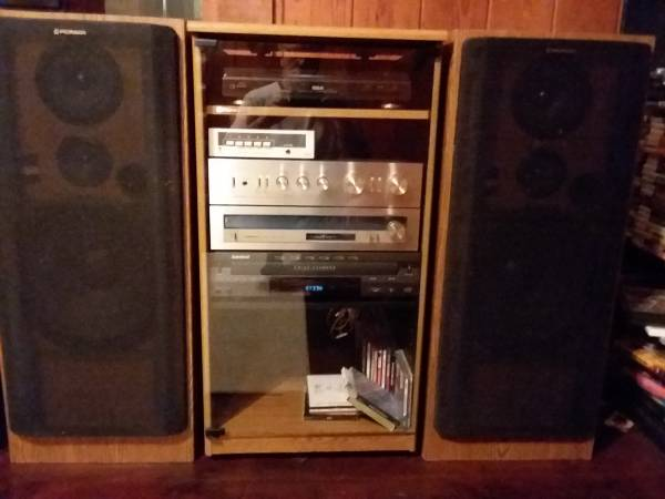 Photo Vintage Pioneer Home Stereo System - $250 (Texarkana)