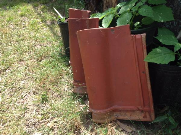 USED LUDOWICI CLAY ROOF TILES