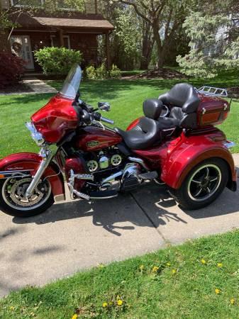 Photo 2008 Harley Ultra Electra Glide Trike - $23,000 (Canton)