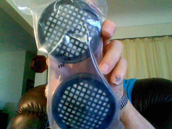 Photo 4 Wilson 1200 series respirator cartridges - $1 (Flint, Mi.)