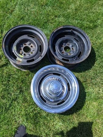 Photo Chevy Rally Wheels - $100 (Westland)