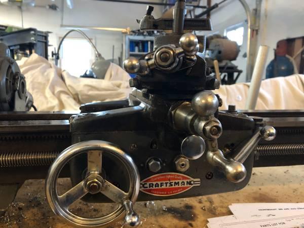 Photo Craftsman 12 Inch Metal Lathe - $950 (Monroe)