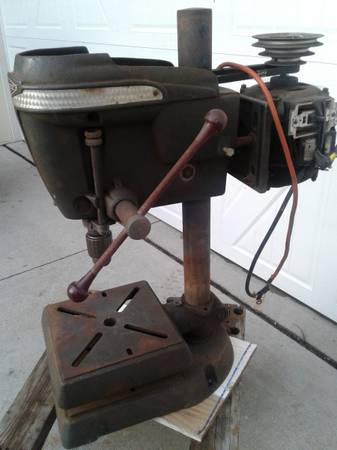 Photo Craftsman drill press - $50 (Erie)