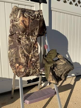 Photo Duck Boat Blind Equipment Accessories Gear Goose Fishing Attwood Hoist - $1 (Monroe)