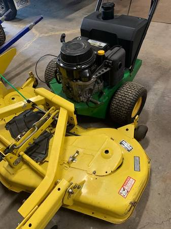Photo JOHN DEERE COMMERCIAL 54quot WALK BEHIND LAWN MOWER - $1,985 (MONROE)