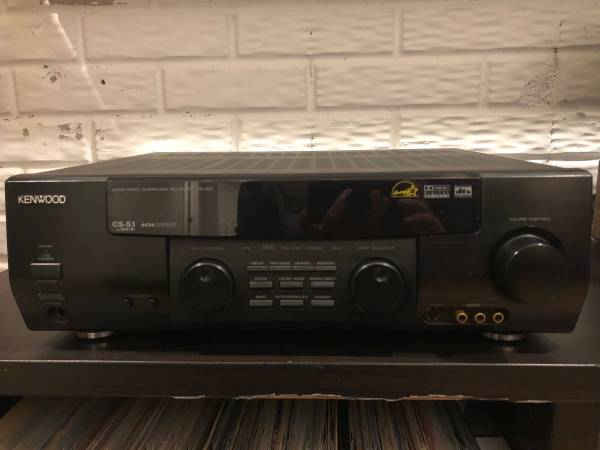 Photo Kenwood VR-507 AV Receiver with Dolby Digital, DTS, and Pro Logic II - $40 (Monroe)