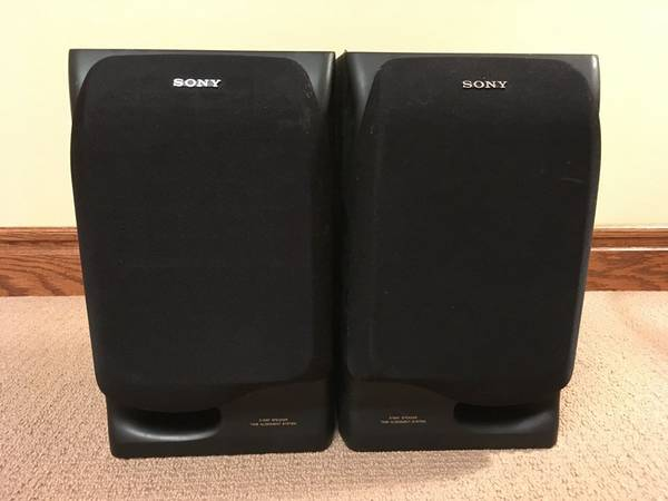 Photo Sony SS-H710 3-Way Stereo Loudspeaker System - Speakers - $10 (Carleton)