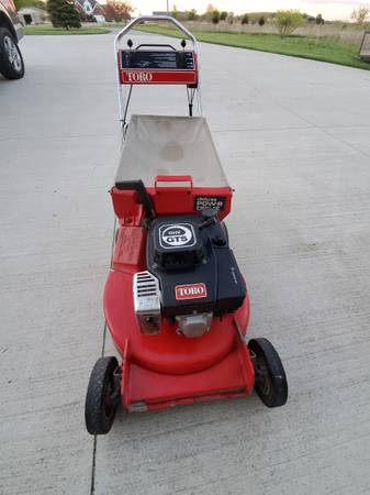 Photo Toro Mower Rear Bagger - $60 (Ida)