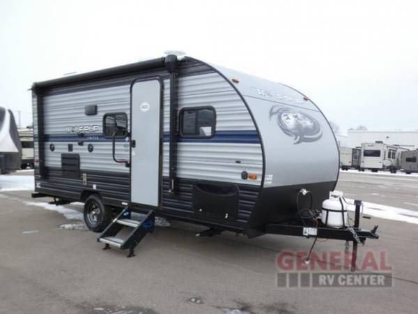 Photo Travel Trailer 2019 Forest River RV Cherokee Wolf Pup 16BHS - $16,999