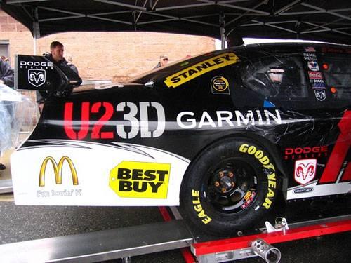 Photo Nascar Race Car Fender - 2007 Race, U23D, McDonalds, Bestbuy - $250 (Oakland twp)