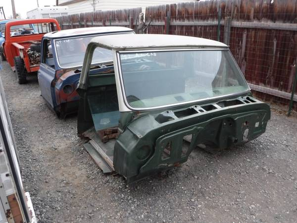 Photo 1967-72 CHEVY TRUCK CABS, HOODS, TAILGATE, RADIATOR SUPPORTS 68 69 70 - $100 (POWELL, WY)