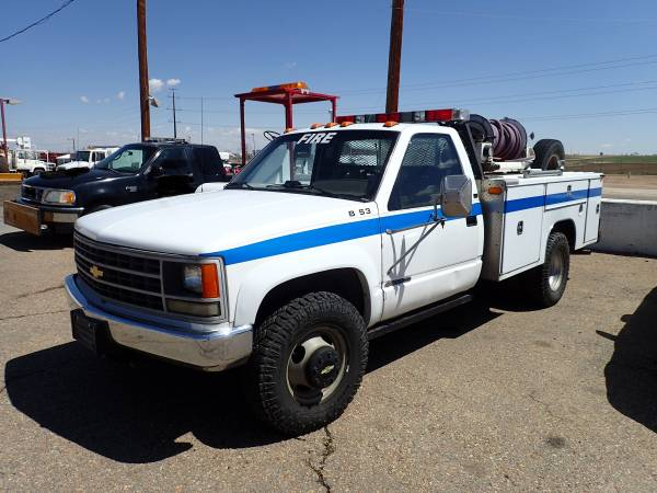 Photo 1992 Chevrolet 4x4 Wildland Brush Fire Truck - $14700 (Dacono, Colorado)