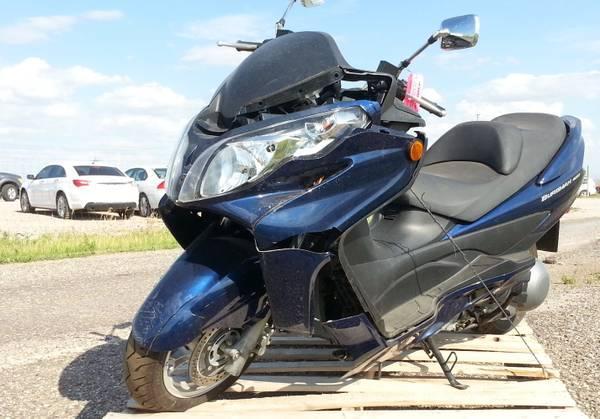 Photo 2007 Suzuki Bergman AN 400, 245 Actual Miles - $400 (rapid city)