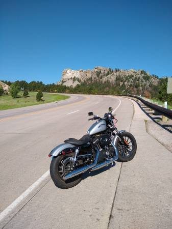 Photo 2015 Harley Davidson 883 iron - $8,000 (Hill city)
