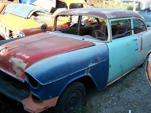 Photo 55 Chevy 2 door post project. ( Sale Pending) - $4,000 (Helena Mt.)