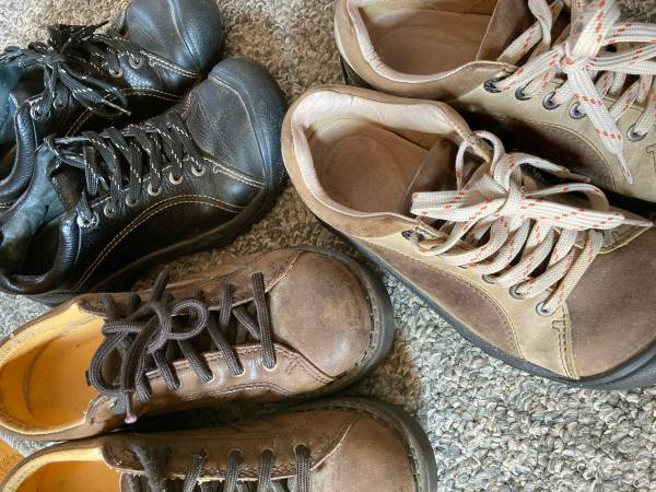 Photo Assorted, Used, Size 6 Shoes (Keen  Am Eagle) - $10 (rapid city west side)