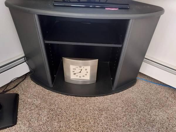 Photo Corner TV Stand - $30 (Billings)