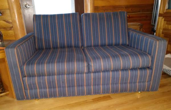 Photo Loveseat Couch - $60 (Rapid City, SD)