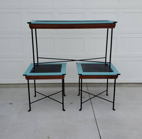 Photo PIER 1 END TABLES and SOFA TABLE - $140 (Billings)