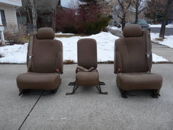 Photo PU Bucket Seats for Chevy - $175 (Bozeman, MT)