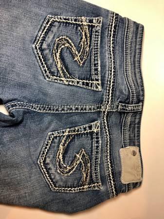 Photo Silver jeans - $20 (Billings)