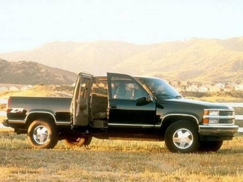 Photo Used 1998 Chevrolet Silverado 1500 4x4 Extended Cab for sale