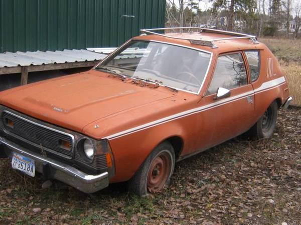 Photo Wanted 1970 to 1978 AMC GREMLIN OR HORNET - $1 (Columbia falls)