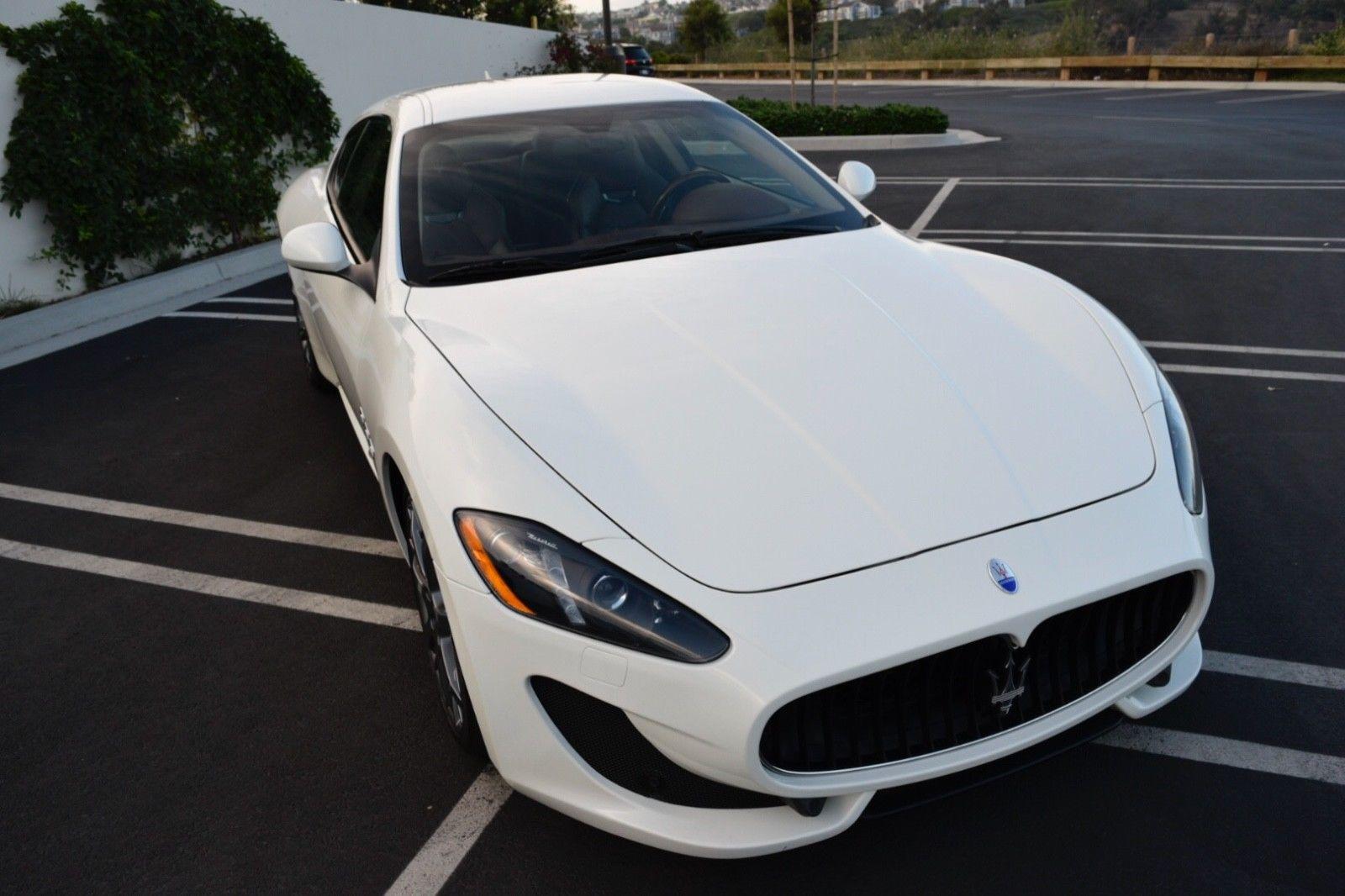 Photo 2014 Maserati Gran Turismo Sport Coupe 27k