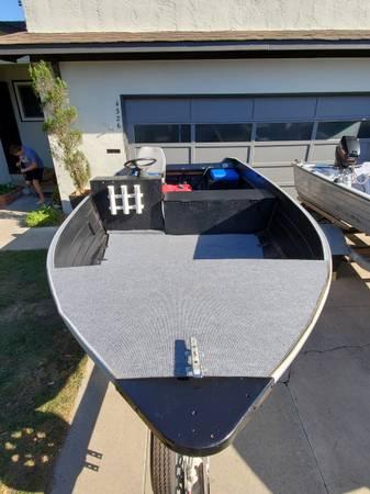 Photo 16 ft Aluminum Mirrocraft fishing boat - $2,000 (fremont  union city  newark)