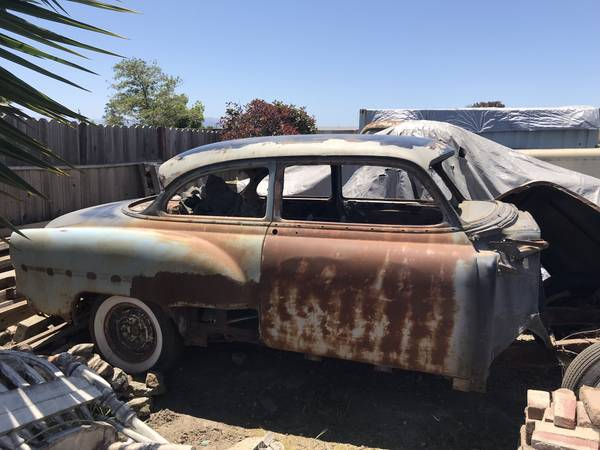 Photo 1954 Chevy 2door Coupe - $1000 (Salinas)