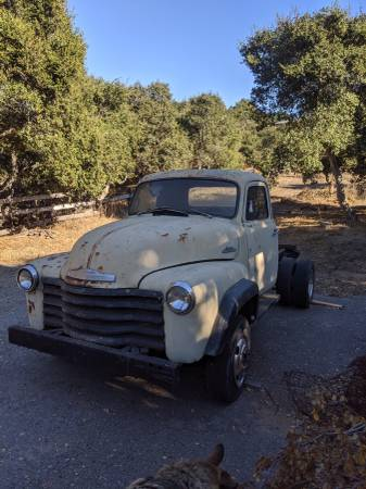 Photo 1954 Chevy pickup - $3750 (Prunedale)