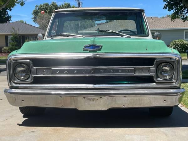 Photo 1970 Chevrolet C10 Shortbed  LS Swap - $33,750 (Salinas)