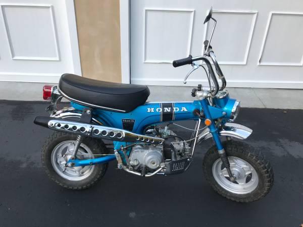 Photo 1970 Honda CT70 Saphire Blue - $1500