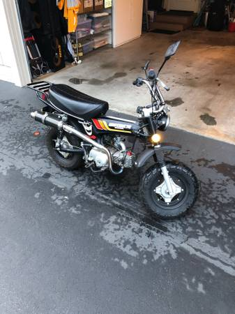 Photo 1978 Honda CT 70 - $2500 (Monterey)