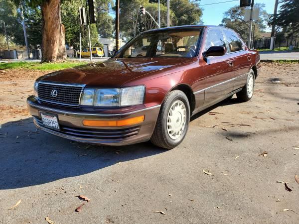 Photo 1991 lexus ls400 low mileage - $4200 (Marina)
