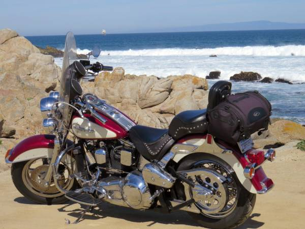 Photo 1994 Harley Davidson Heritage Soft tail Motorcycle FOR SALE - $5,950 (Monterey)