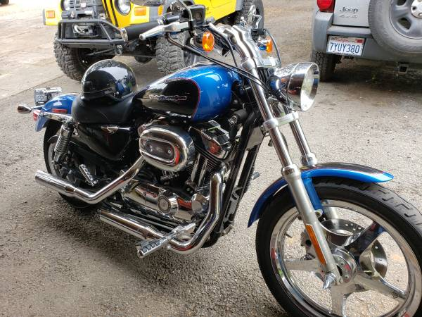 Photo 2004 Harley Davidson Sportster Special Edition in Mint Condition - $7,900 (Prunedale)