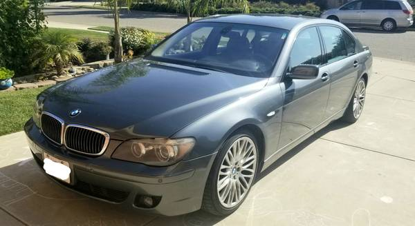 Photo 2008 BMW 750Li For Sale By Owner - $7,900 (Monterey CA)