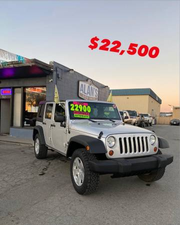 Photo 2009 JEEP WRANGLER UNLIMITED X (REDUCED) - $21,900